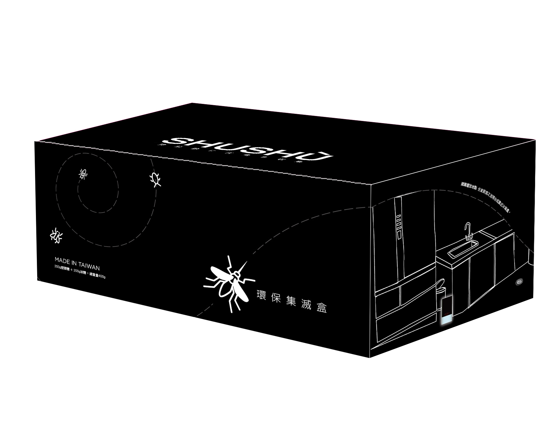 防蚊用品包裝設計|印刷