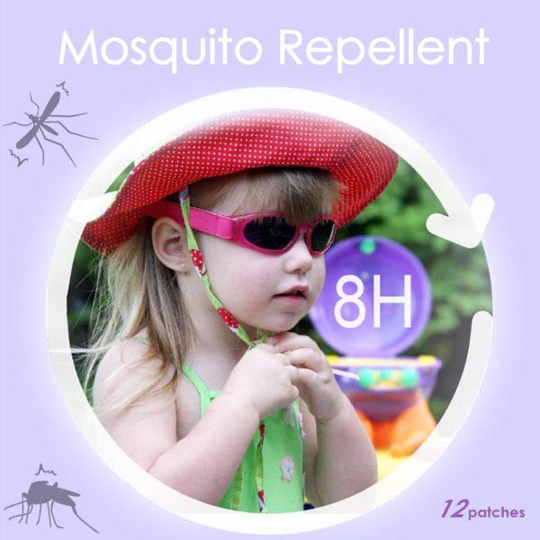 防蚊貼吊掛式包裝盒視覺設計