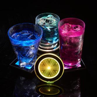 LED杯墊產品攝影